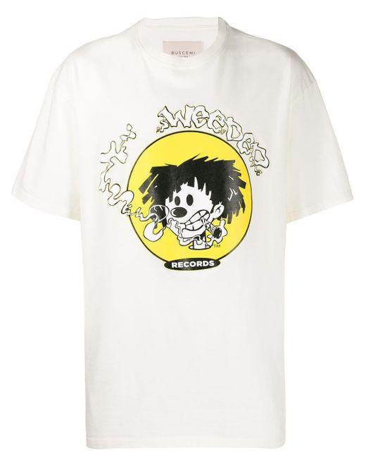 メンズ Buscemi Records Tシャツ White