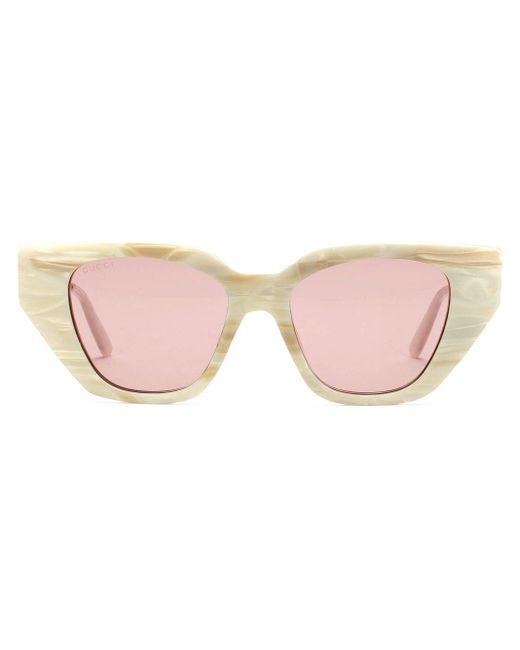 Gucci キャットアイ サングラス Pink