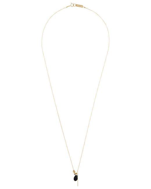 angular plate necklace - Metallic Isabel Marant Kvodv4CJ
