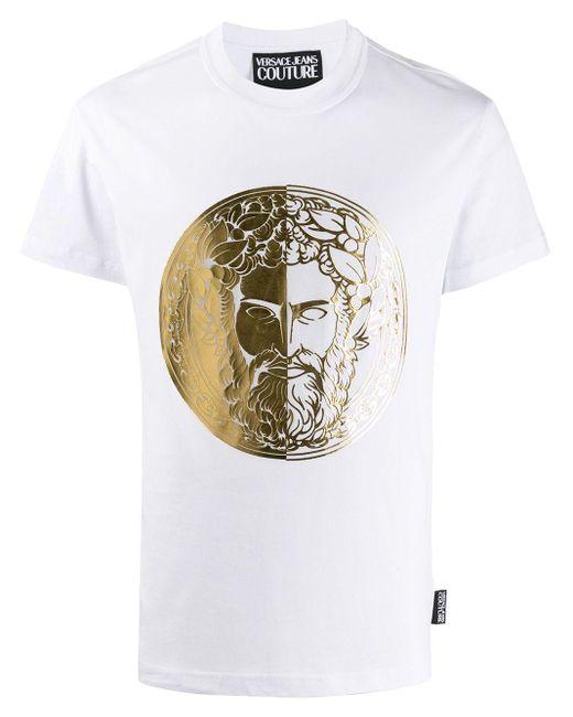 メンズ Versace Jeans プリント Tシャツ White