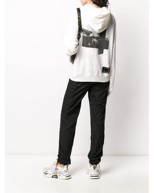 Unravel Project ロゴ パーカー White