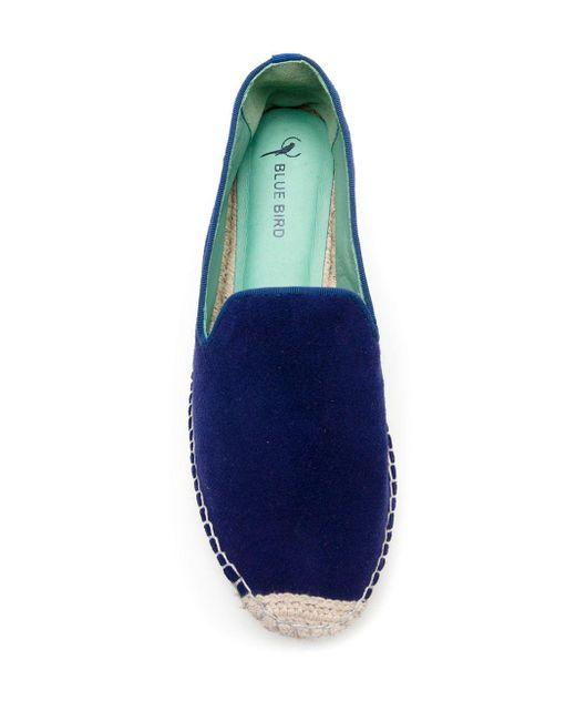 Blue Bird Shoes スエード エスパドリーユ Blue