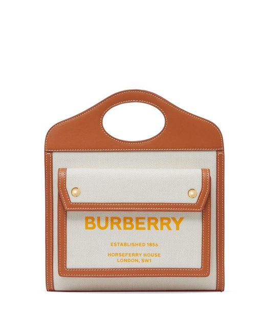 Burberry Pocket バッグ ミニ Multicolor