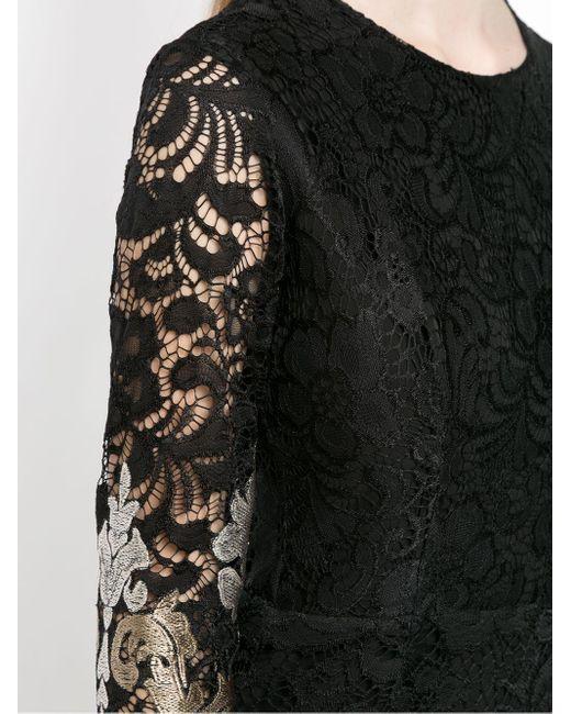 Lace Lua Midi Dress Olympiah, цвет: Black