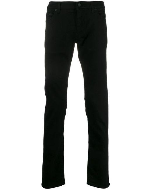 メンズ Dolce & Gabbana ロゴ スキニージーンズ Black