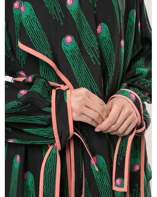 Stella McCartney プリント ドレス Green