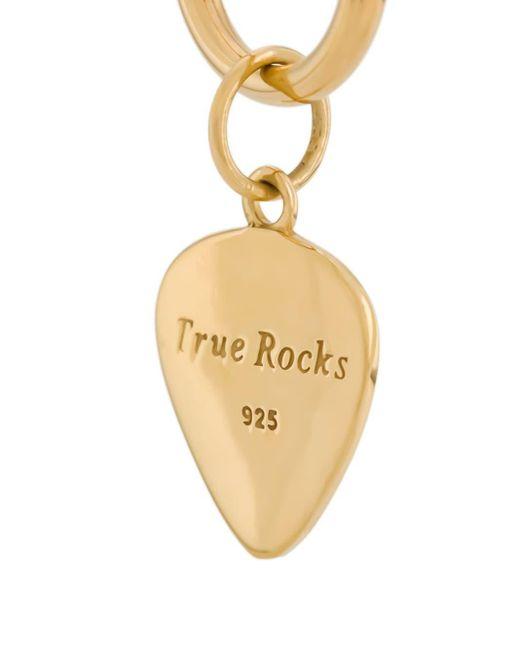 メンズ True Rocks ドロップ ピアス Metallic