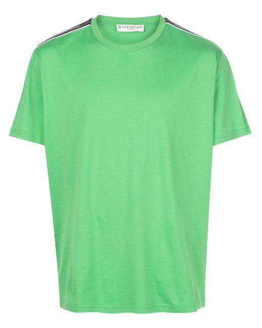 メンズ Givenchy ストラップ Tシャツ Green