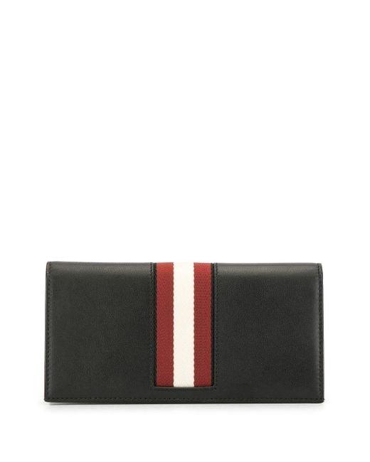 Бумажник С Тисненым Логотипом Bally для него, цвет: Black