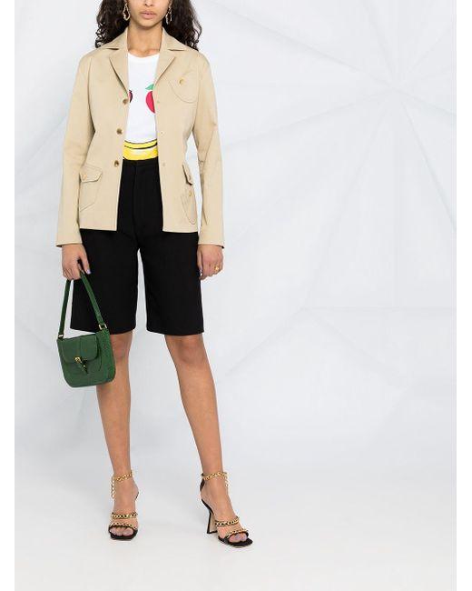 Boutique Moschino ベルテッド ジャケット Multicolor