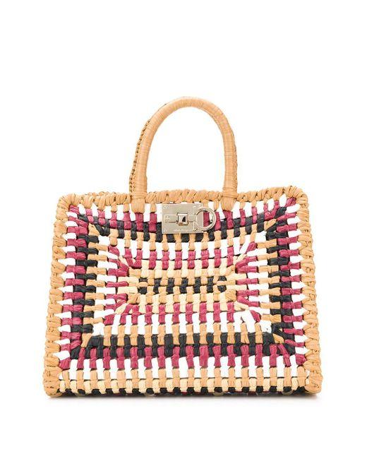 Ferragamo ハンドバッグ Multicolor