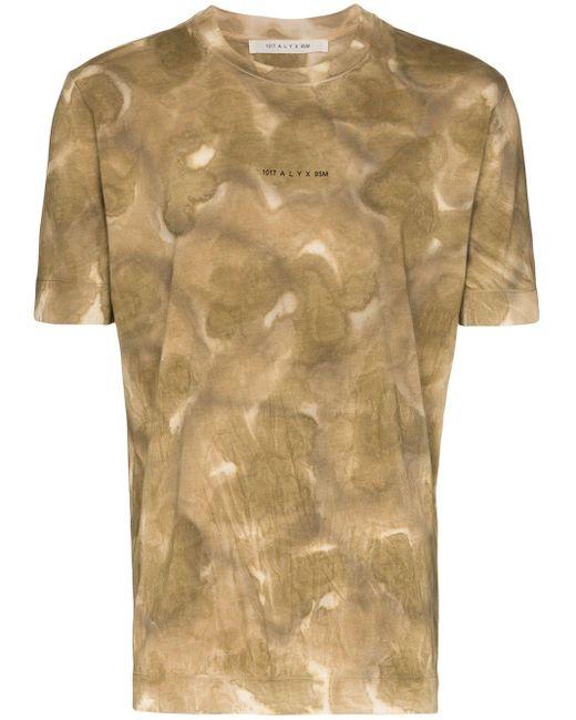 メンズ 1017 ALYX 9SM ロゴ Tシャツ Brown