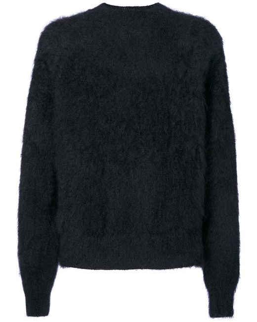 Haider Ackermann - Black Fluffy Jumper for Men - Lyst