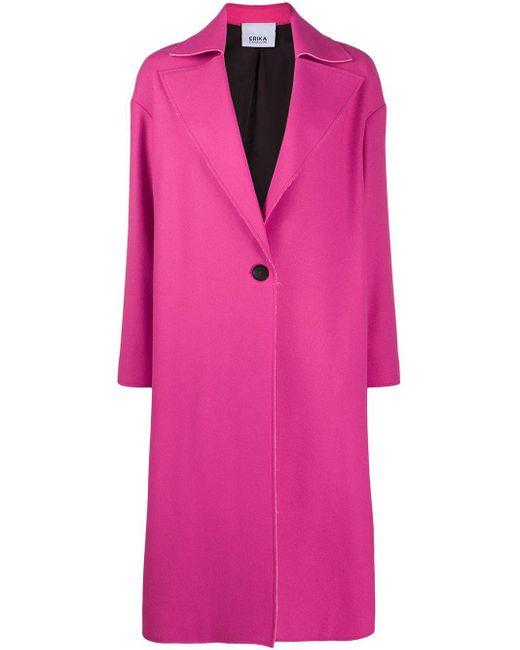 Erika Cavallini Semi Couture シングルコート Pink