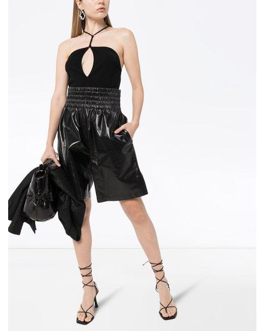 Bottega Veneta ホルターネック ボディスーツ Black
