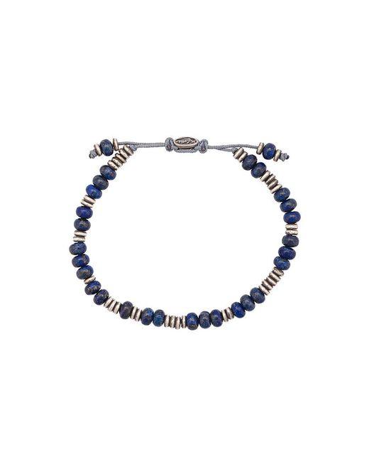M. Cohen - Metallic Beaded Bracelet for Men - Lyst