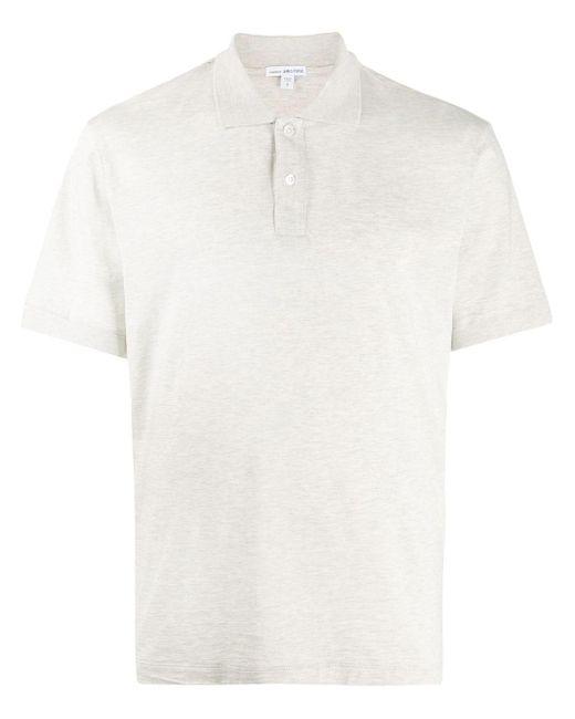 メンズ James Perse リラックスフィット ポロシャツ Gray