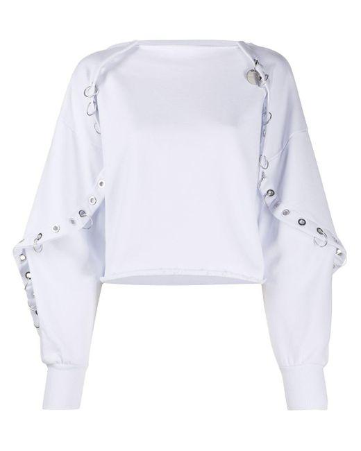 DIESEL ケープエフェクト スウェットシャツ White