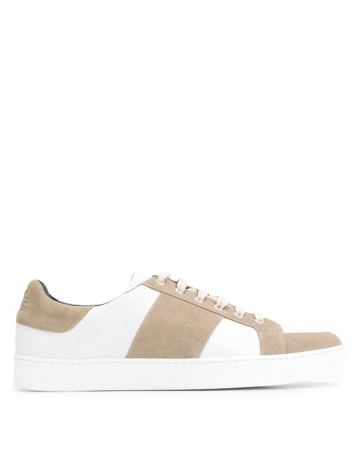 Etro Multicolor Two Tone Low Top Sneakers for men