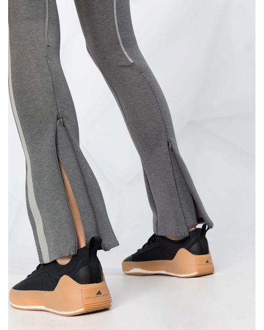 Adidas By Stella McCartney サイドストライプ レギンス Gray