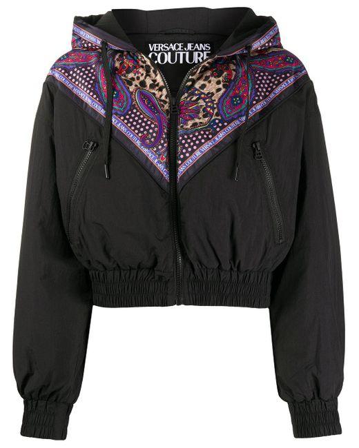 Versace Jeans クロップド ジャケット Black