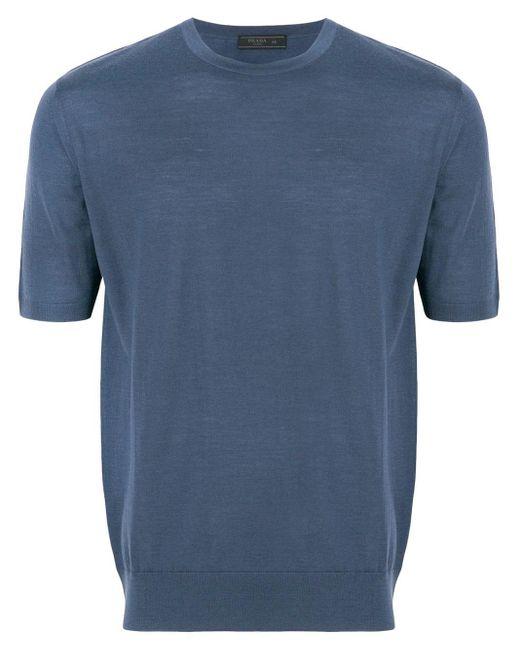 メンズ Prada ショートスリーブ セーター Blue