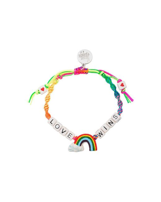 Venessa Arizaga - Multicolor Love Wins Bracelet - Lyst