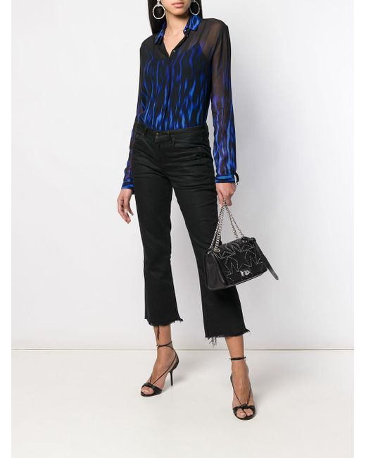 Sac porté épaule Helia Jimmy Choo en coloris Black