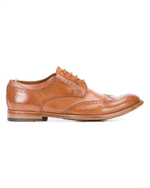 Officine Creative | Brown Anatomia 3 Derby Shoes for Men | Lyst
