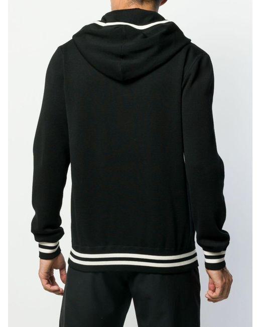 Худи С Логотипом И Шнурком Dolce & Gabbana для него, цвет: Black