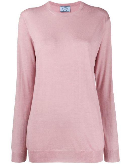 Prada リラックスフィット セーター Pink
