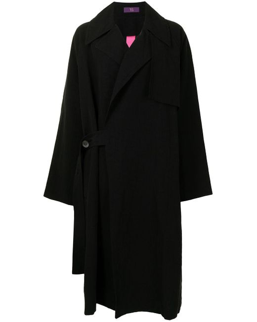 Y's Yohji Yamamoto オーバーサイズ コート Black