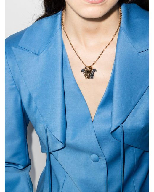 Колье Palazzo Dia С Подвеской Versace, цвет: Metallic
