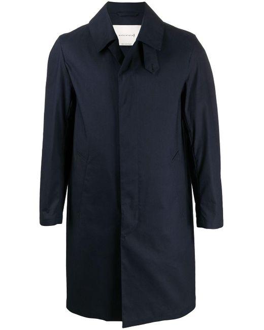 メンズ Mackintosh Dunkeld コート Blue