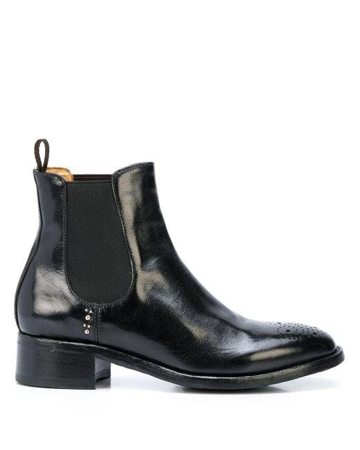 Ботинки С Перфорацией Officine Creative, цвет: Black