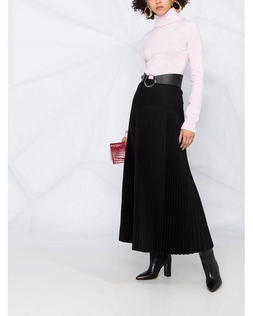 Кашемировый Джемпер С Высоким Воротником Alexander McQueen, цвет: Pink