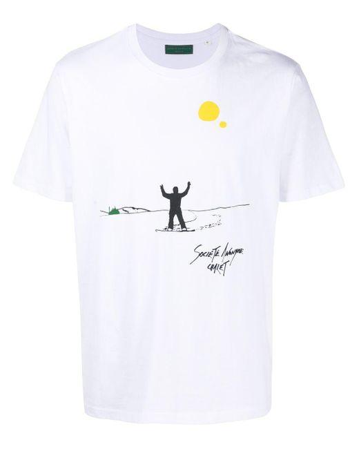 メンズ Societe Anonyme Snowboarder スウェットシャツ White