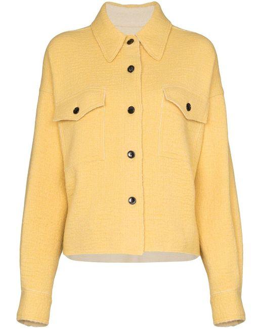 Isabel Marant Dennao シャツジャケット Yellow