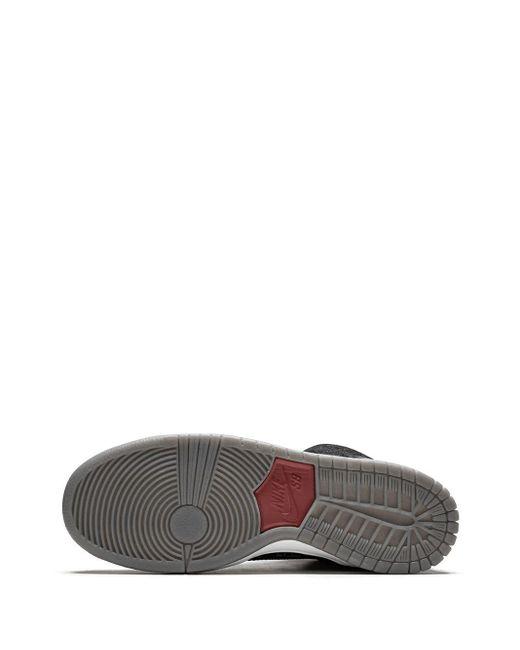 メンズ Nike Dunk High Premium Skateboarding スニーカー Black