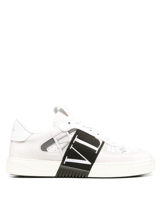 Valentino Sneakers Met Vl7n Logo in het White voor heren