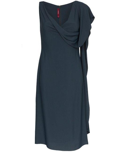 Sies Marjan Etta Marocain ドレス Blue