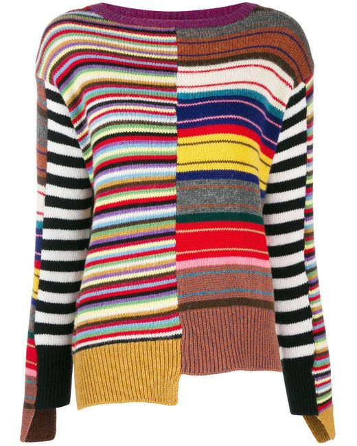 Etro Gebreide Sweater in het Multicolor