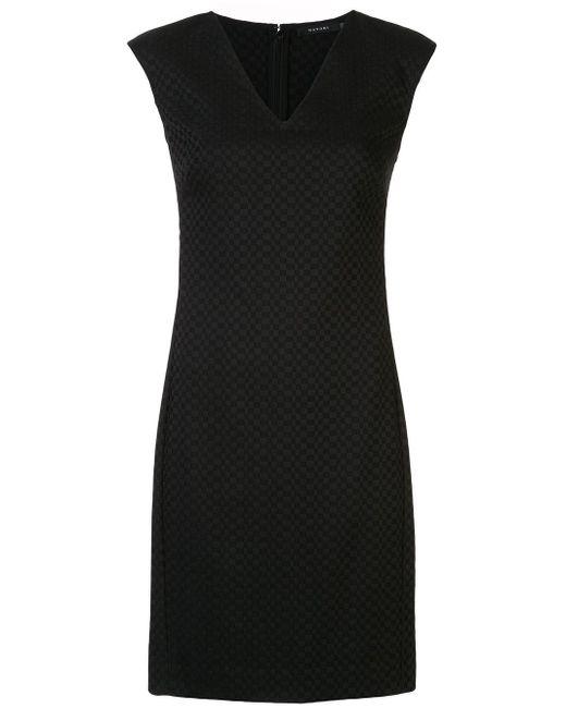 Natori ジャガード ドレス Black