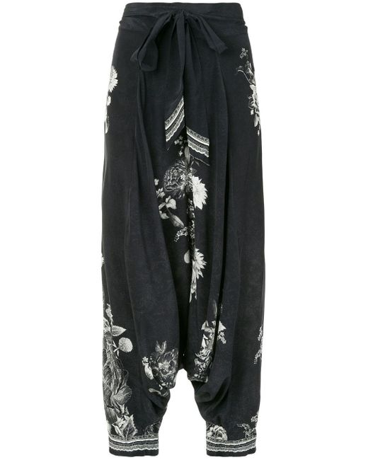 Camilla Moonshine Bloom パンツ Black