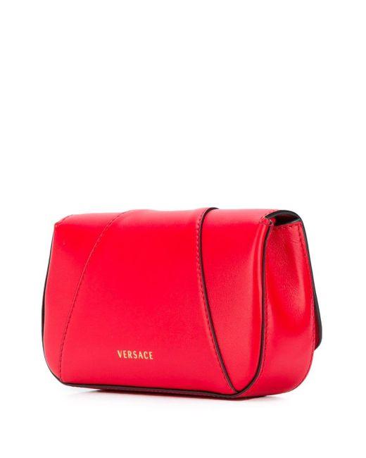 Versace Virtus ショルダーバッグ Red