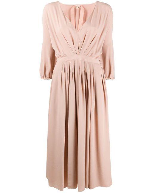 N°21 プリーツ ドレス Pink