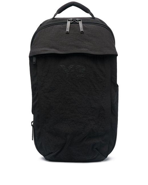Y-3 ロゴ バックパック Black