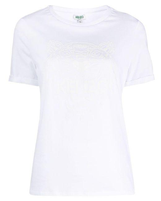 KENZO プリント Tシャツ White