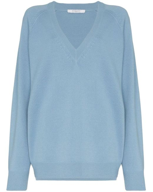 Givenchy リラックスフィット セーター Blue