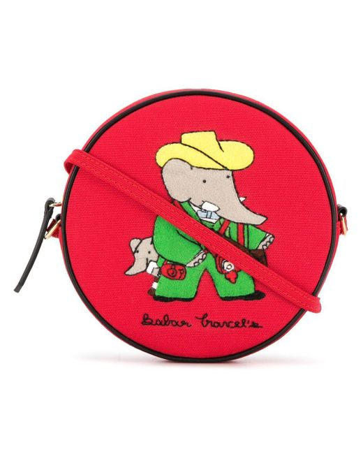 Olympia Le-Tan Babar Travels ショルダーバッグ Multicolor